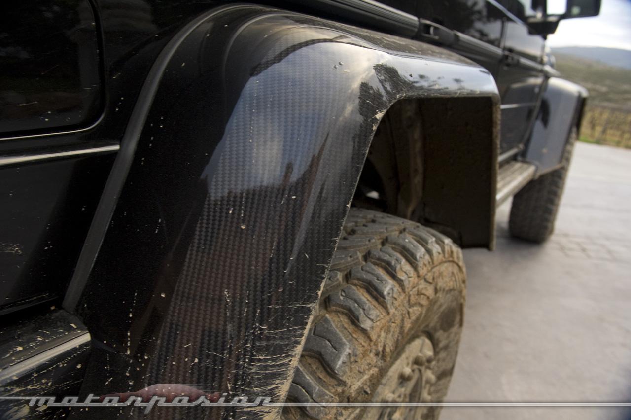 Foto de Mercedes-Benz G 500 4x4², toma de contacto (123/127)