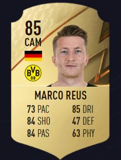 Reus FIFA 22 mejores centrocampistas