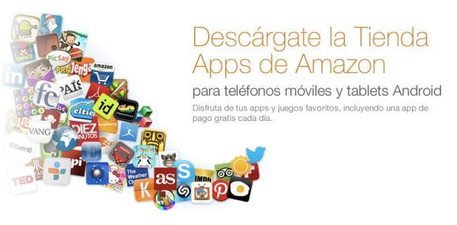 amazon appstore android aplicaciones