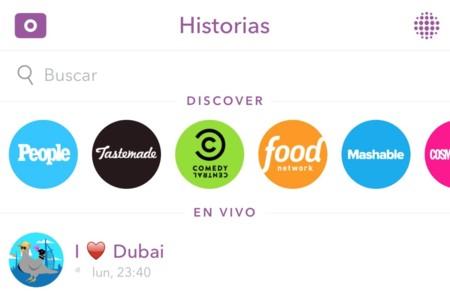 Los medios están pagando a Snapchat para aparecer en su sección Discover, según The Information