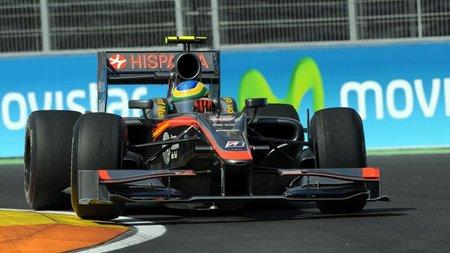 GP de Europa 2010: Hispania Racing Team sufre contra sus rivales