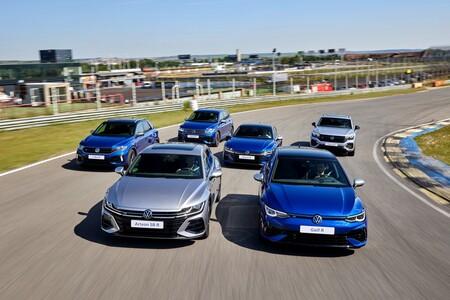 Probamos los Volkswagen R: desde el gigantesco SUV Touareg R al juguetón Golf R con su modo Drift