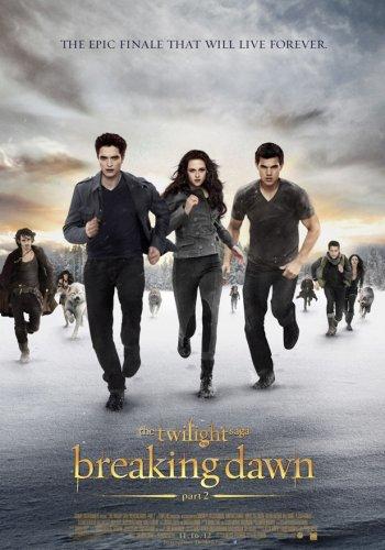 El póster definitivo de La Saga Crepúsculo: Amanecer. Parte 2