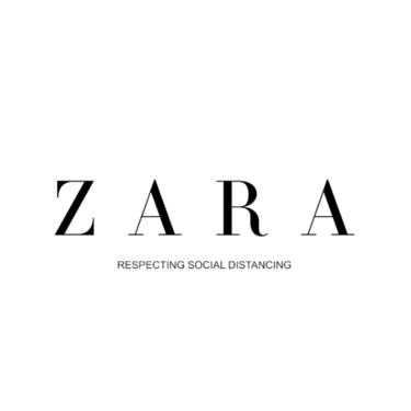 Así ha actualizado Zara su logo para recordarnos que, a pesar del distanciamiento social, estamos más cerca que nunca