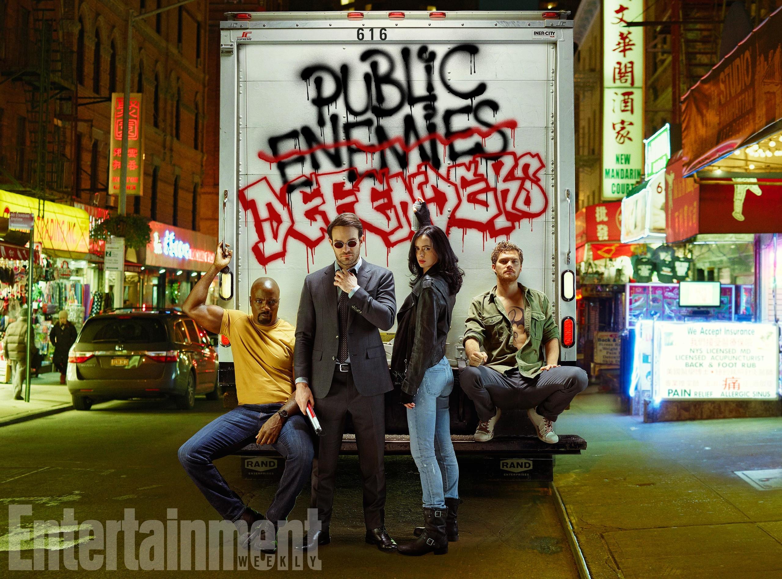Foto de Primeras imágenes de 'The Defenders' (3/10)