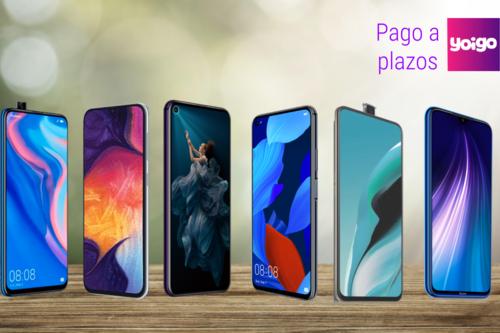 Qué móvil comprar a plazos en Yoigo: los mejores smartphones entre 100 y 400 euros