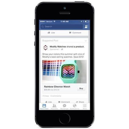 Facebook estará listo para realizar compras de productos desde tu Android