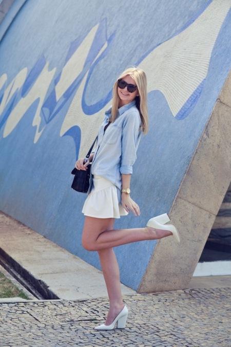 El zapato blanco es una realidad