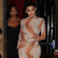 Kylie Jenner con un vestido de Céline (sí, en serio) triunfa con su outfit en la cena de BoF