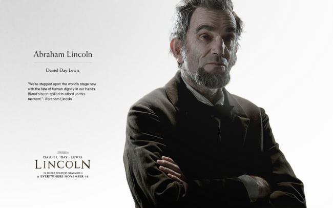Imagen con un cartel de 'Lincoln'
