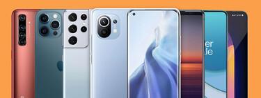 Comparativa del Xiaomi Mi 11 frente al Samsung Galaxy S21 Ultra, iPhone 12 Pro Max y más: enfrentamos sus características y precio