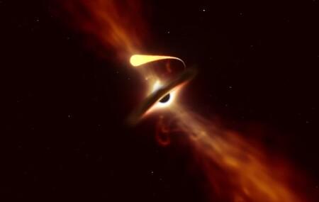 Muerte por 'espaguetización': así es como un estrella es devorada por un gigantesco agujero negro