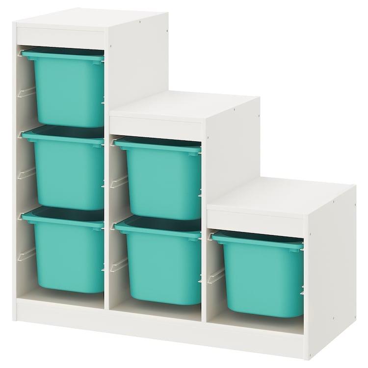 Combinación de armario y estantería