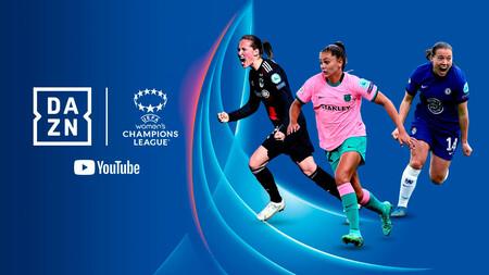 YouTube emitirá gratis la Champions League femenina durante las siguientes dos temporadas