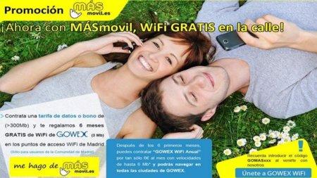 MÁSmovil se apunta a la moda del Wi-Fi gratis municipal