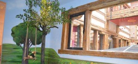 Un simpático bosque para la habitación de los niños, propuesta de Minimun para Casa Decor