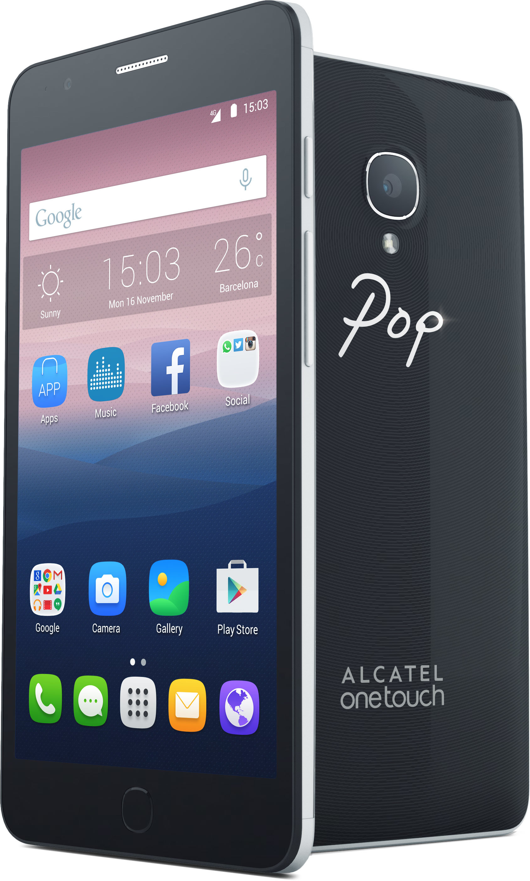 Foto de Alcatel OneTouch POP UP (1/3)