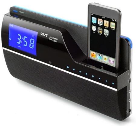 CVT i3101, reloj-despertador de pared para el iPod/iPhone