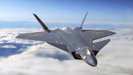 China usa metamateriales en su caza J-20 para hacerlo indetectable y mejorar sus radares