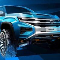 La nueva Volkswagen Amarok llegará en 2022 compartiendo plataforma con la pick-up Ford Ranger