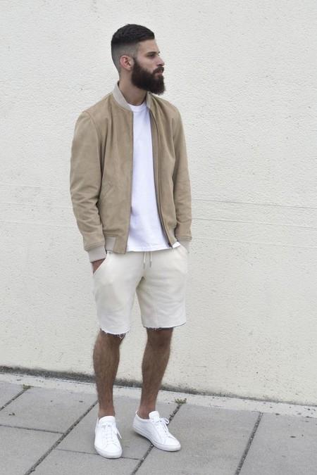 Beige White Men Street Style Spring Summer 2020 Trendencias Hombre 06