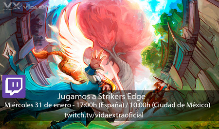 Streaming de Strikers Edge a las 17:00h (las 10:00h en CDMX) [finalizado]