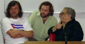 García Márquez y Kusturica conversan sobre 'El Otoño del Patriarca'