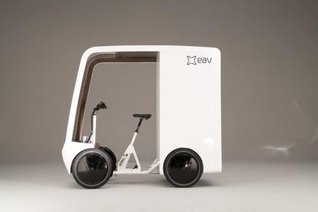 EAVan, una curiosa mezcla de bicicleta eléctrica y city van para las congestionadas ciudades de hoy