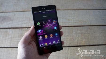 Sony Xperia Z análisis pantalla en mano