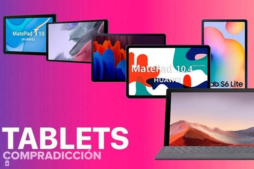 Oportunidades en tablets de Huawei, Microsoft y Samsung en las ofertas de septiembre de Amazon. Equípate para este curso ahorrando dinero
