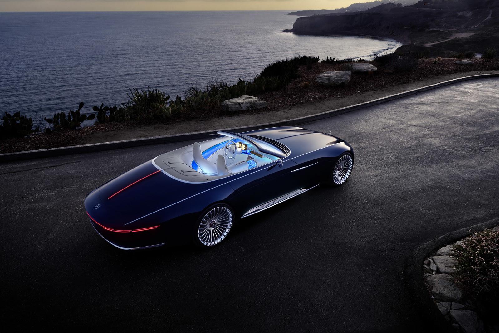 Foto de Vision Mercedes-Maybach 6 Cabriolet (10/12)