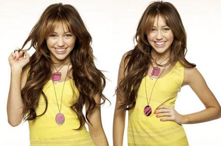 Miley Cyrus, premiada por su cara bonita