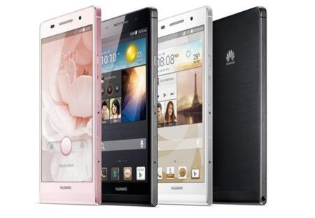 El Huawei Ascend P6 S llega con más potencia, pero sin ranura Micro-SD