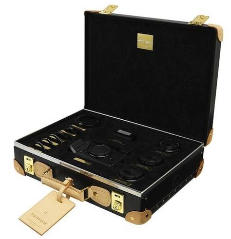 Fujifilm X-Pro1, querrás llevarla en el maletín Globe Trotter hecho a su medida