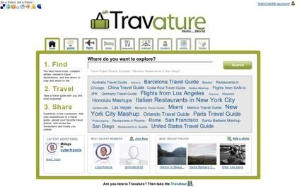 Travature: una completa red social de viajes
