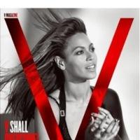 Beyonce Knowles en la portada de diciembre de la revista V