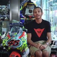 Valentino Rossi nos muestra en vídeo 24 años de historia de motociclismo desde su museo secreto