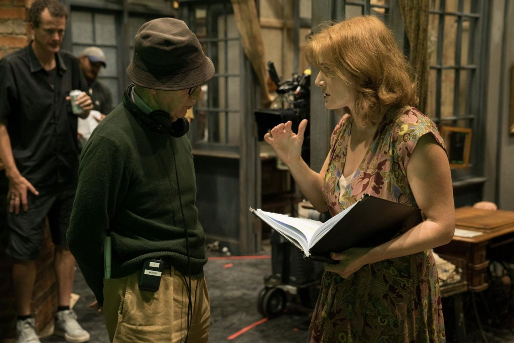 Woody Allen con Kate Winslet
