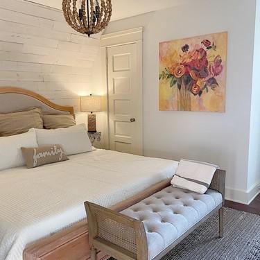 Antes y después: una habitación de invitados, confortable y con mucha luz, que cuida los detalles
