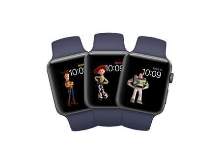 Toy Story llega a la segunda beta de watchOS 4, así son los nuevos personajes para tu reloj