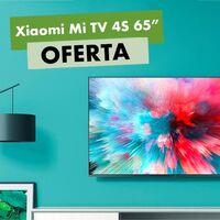 El televisor 4K de Xiaomi, con 65 pulgadas y Android TV tiene esta semana un superdescuento de 100 euros en MediaMarkt