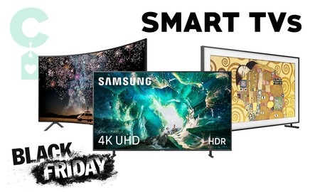 Black Friday 2019: mejores ofertas en televisores LG, Samsung o Sony