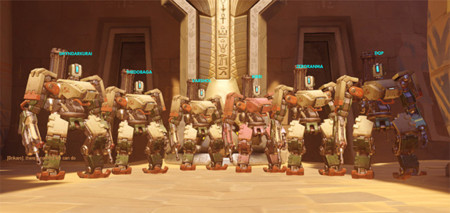 Adiós a los equipos de clones en el apartado competitivo de Overwatch