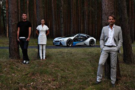BMW Vision EfficientDynamics, el concept car del futuro tiene forma de insecto