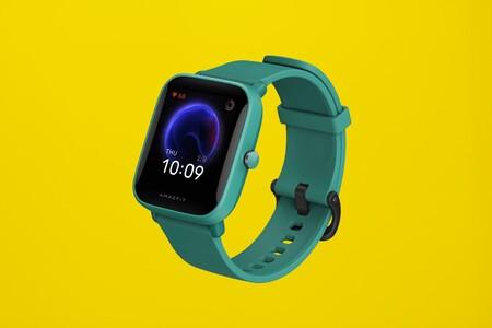El smartwatch Amazfit Bip U a precio mínimo en El Corte Inglés: 60 deportes y medición de oxígeno en sangre por menos de 50 euros