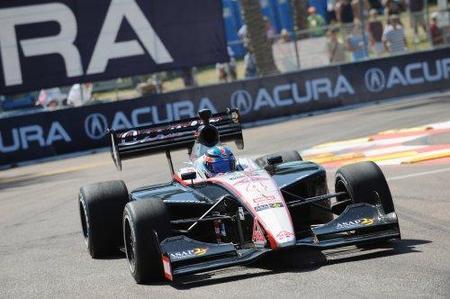 Indy Lights: Carmen Jordá y Adrián Campos Jr sin suerte en Barber Park