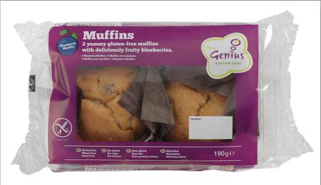 Genius Gluten Free ha presentado sus muffins de limón y arándanos, de sabor delicioso y textura esponjosa