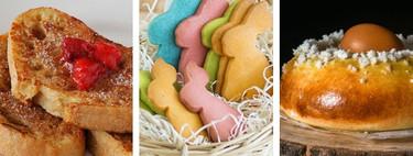 23 recetas dulces de Semana Santa para hacer con los niños: torrijas, monas de Pascua, galletas y más cosas ricas
