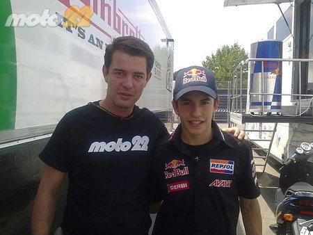 Marc Márquez GP Catalunya 2010