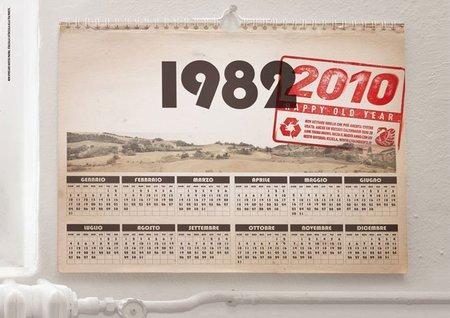 Recicladecoración: reutiliza tus calendarios viejos